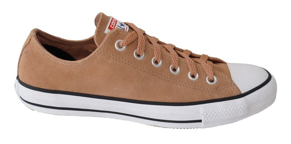 Tenis All Star Ct07210002 Couro - Argila