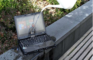 Laptop Militar Rugged Getac V110 Vpro Ambientes Extremos