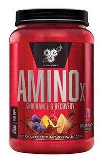 Amino X Bsn Aminoacidos Ramificados Bcaa X70 Serv Importado