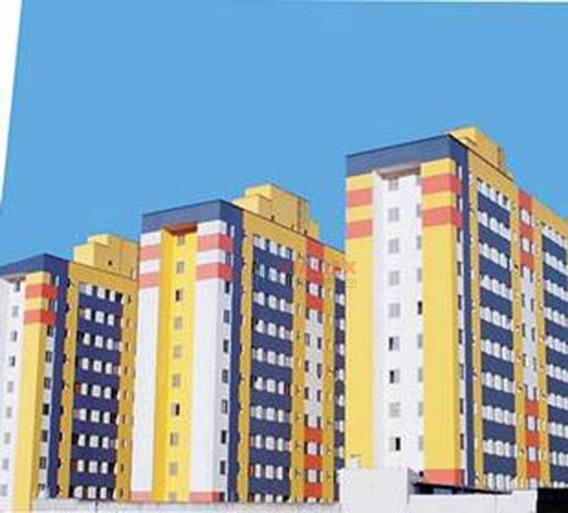 Ótimo Apartamento Com 1 Dormitório À Venda, 39 M² Por R$ 186.000 - Jardim Satélite - São José Dos Campos/sp - Ap2435