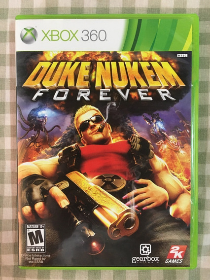 Duke Nukem Forever Xbox 360 Retrocompativel Xbox One