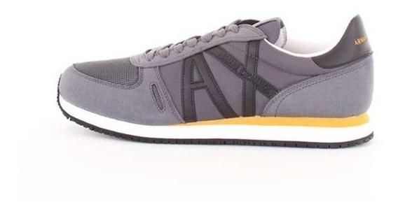 Tênis Armani Exchange Retro Low Top-logo Sneakers