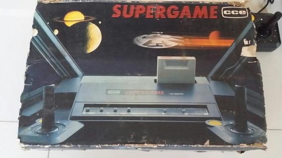 Atari Supergame Cce Vg 2800 2 Controles 3 Cartuchos