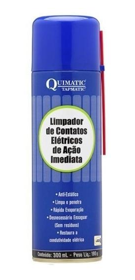 Limpador De Contatos Eletricos Acao Imediato 300ml Ga1 Tapmatic