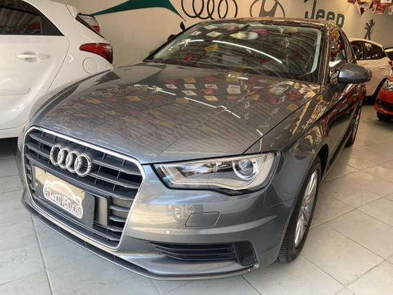 A3 Sedan 1.4 Attract Turbo Fsi S-tronic 2015 Cinza Completo