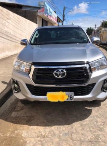 Toyota Hilux 2019 2.7 Srv Cab. Dupla 4x4 Flex Aut. 4p Diesel