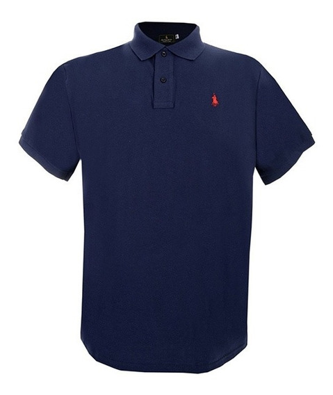 Playera Polo Club, Tallas Especiales, X2, X3 Azul Marino