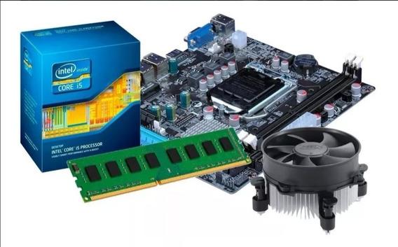 Kit Processador Core I5 2500k + Placa Mãe Z68 + 8gb1600mhz