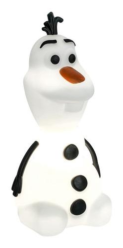 Luminária Olaf Frozen Disney Abajur Bivolt