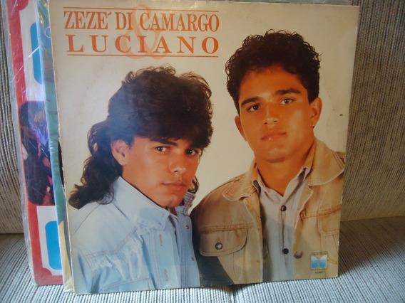 Lp Vinil Zeze Di Camargo E Luciado 1991 É O Amor