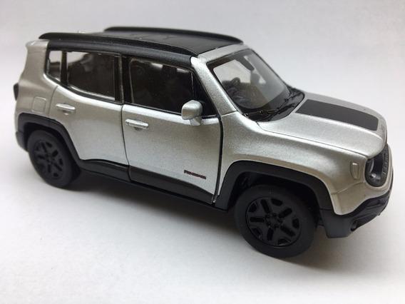 Miniatura Jeep Renegade Trailhawk Cores Variadas