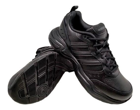 Zapatillas adidas Hombres Strutter Tenis Cuero Eg2656 Eezap