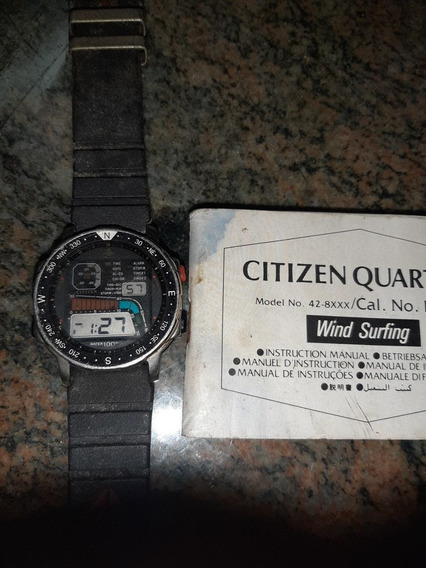 Relogio Citizen Wind Surf