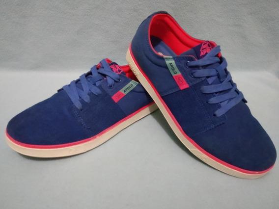 Zapatos Casuales Apolo Azules Talla 38