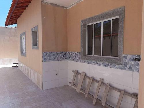 Imagem 1 de 13 de Casa Para Venda Em Mongaguá, Balneário Samas, 2 Dormitórios, 1 Suíte, 1 Banheiro, 2 Vagas - Mg040_2-1156446