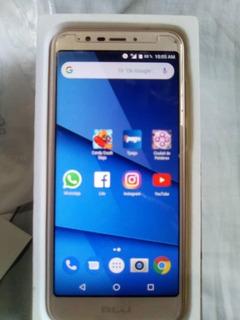 Celular Blu View Xl Dorado