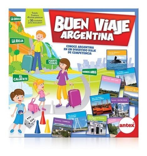 Buen Viaje Argentina 4341 Antex Juego De Mesa Educando