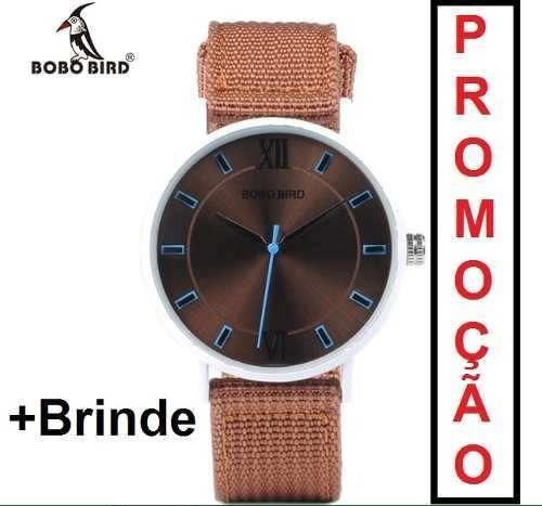 Relógio Feminino Bobo Bird Original Com Garantia+brinde
