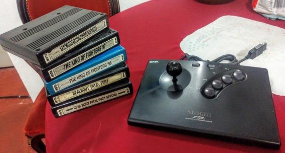 Arcade De Neo Geo Aes E Cartuchos Mvs