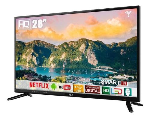 """Smart TV HQ HQSTV28NY LED HD 28"""" 110V/220V"""