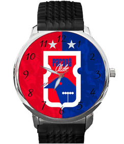 Relógio Paraná Clube Tricolor Da Vila Furacão Futebol Bola