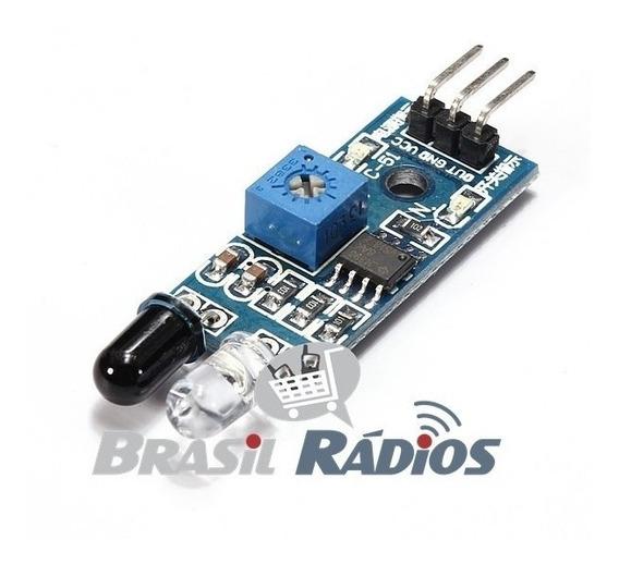2 X Sensor Obstáculo Infravermelho Reflexão Lm393 P/ Arduino