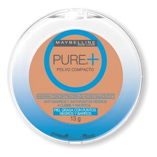 Polvo Compacto Pure Makeup Plus Rostro Maybelline