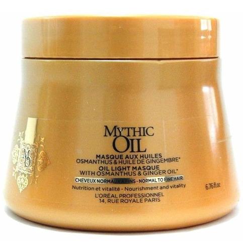 Imagen 1 de 1 de Máscara Nutritiva Cabellos Finos Mythic Oil 200 Ml