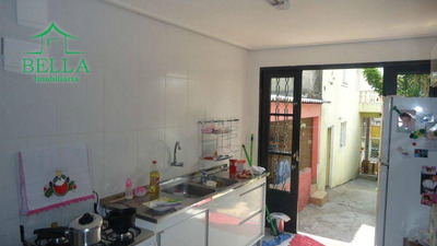 Sobrado Residencial À Venda, Jardim Elvira, Osasco. - So0427