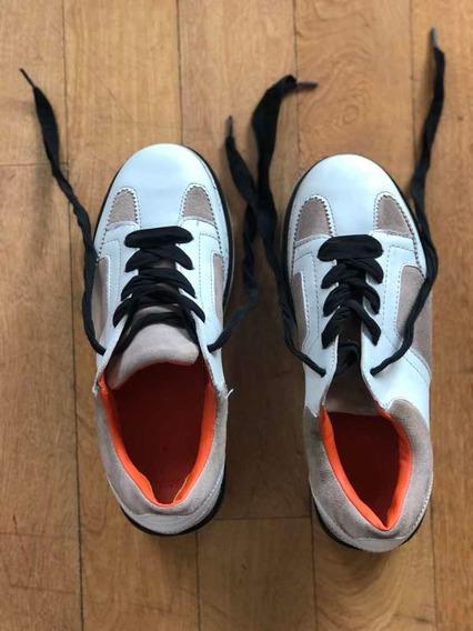 Zapatillas Con Plataforma Zara