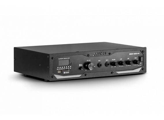 Receiver Amplificador Frahm Gr 4200 App Bluetooth 400w Rms
