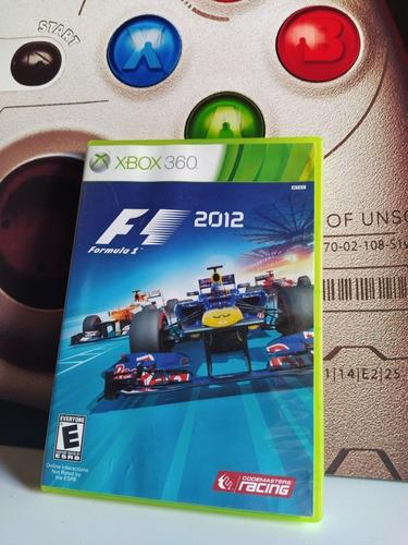 F1 Fórmula 1 2012 Xbox 360 Original Físico Usado