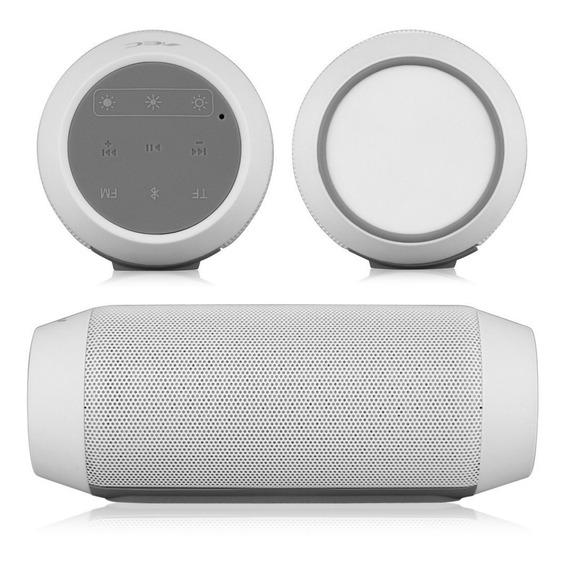 Caixa Som Bq-615 Bluetooth 80 Leds Rádio Fm Mp3 Sd (c/ Nf)