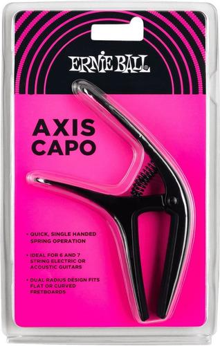 Imagem 1 de 6 de Capotraste Braçadeira Violão Guitarra Axis Capo Ernie Ball