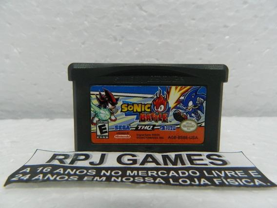 Sonic Battle Original Salvando P/ Gba Game Boy Advance