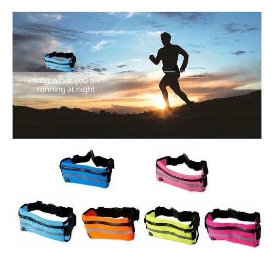 Riñonera Impermeable Running Celular Deportes Microcentro