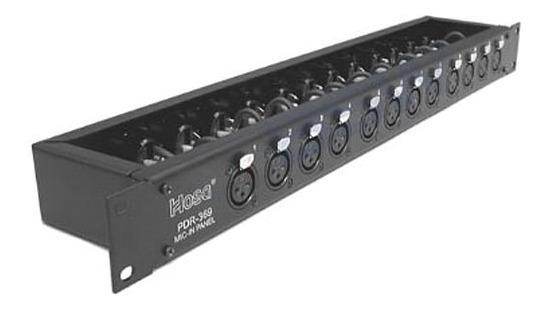 Hosa Pdr369 Patchbay 12 Vias Ñ Behringer Switchcraft Neutrik