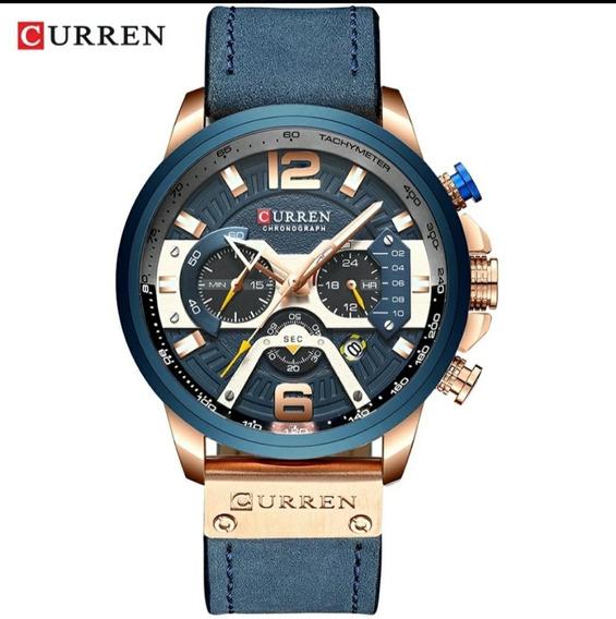 Relógio Curren Original 8329 Luxo