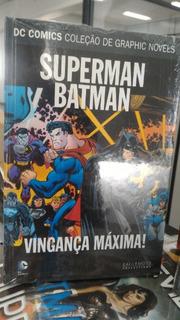 Hq Dc Graphic Novels - Superman & Batman - Vingança Máxima!