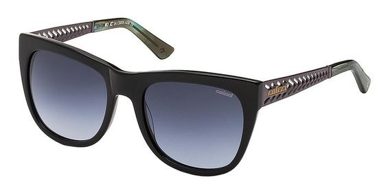 Óculos De Sol Feminino Colcci Proteção Uv Preto Chumbo