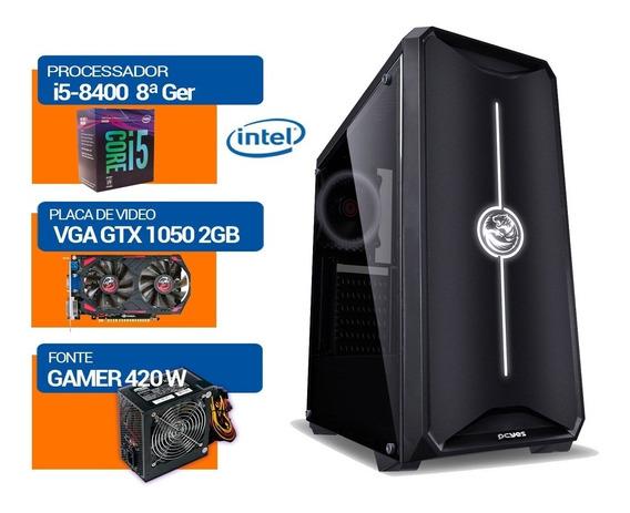 Kit Pc Gamer I5-8400 8ª Ger, Gtx1050 Hd500gb, 4gb Mem Ddr4