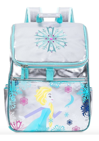 Disney Store Mochila Backpack Elsa Frozen 100% Original