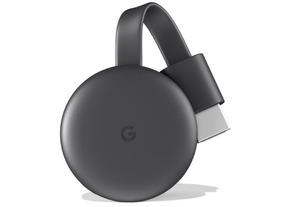 Chromecast 3 Black Com Nfe E Garantia