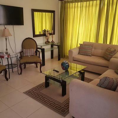 Apartamento Amueblado 2 Habitaciones En La Don Pedro