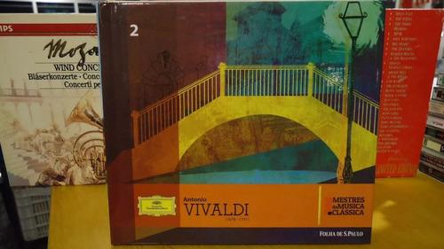 Cd A. Vivaldi Mestres Das Músicas Clássicas 2