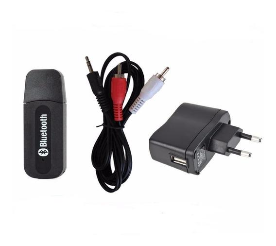 Kit Bluetooth Cabo P2/2rca Radio Antigo Caixa Amplificada Tv