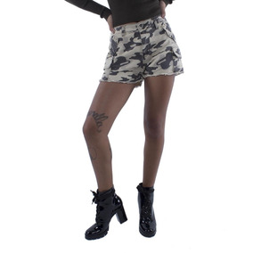 Shorts Sarja Camuflado Pop Me