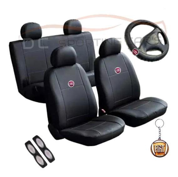 Capa De Bancos Automotivos Couro P/ Fiat Uno Palio Siena