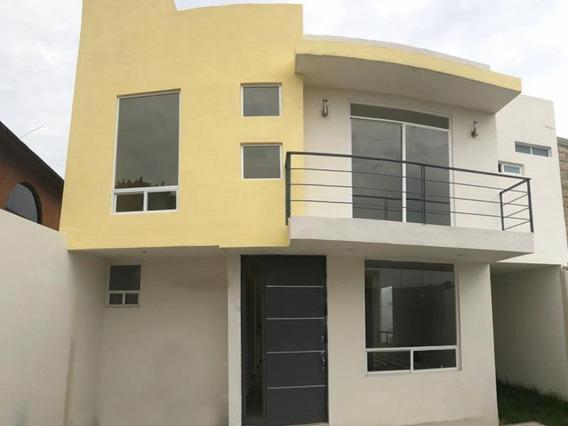 Casa Sola En Venta Llanos De Ixtazacuala