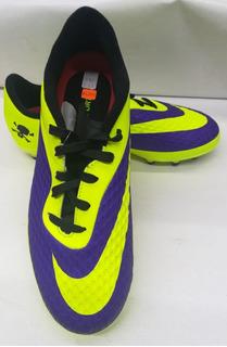 Nike Soccer-verde/morado